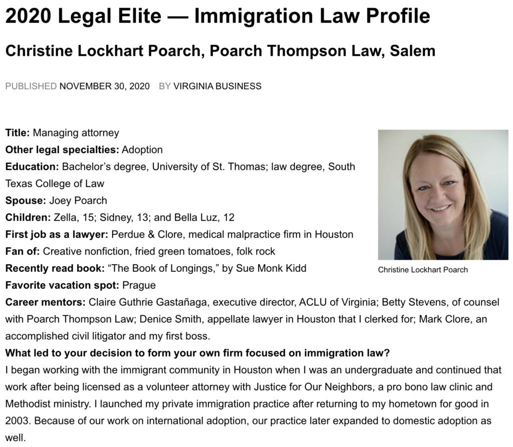 2020 Legal Elite